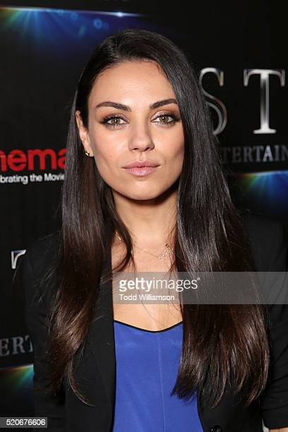 Actress Mila Kunis attends CinemaCon 2016 The State of the Industry Past Present and Future and STX Entertainment Presentation at The Colosseum at...