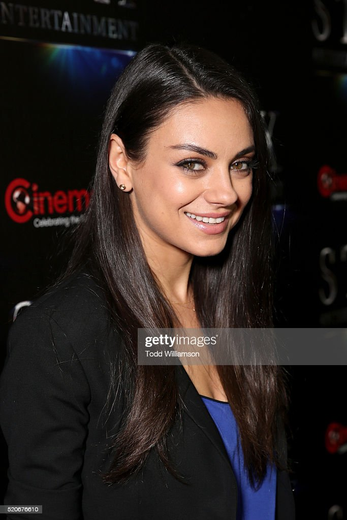 Actress Mila Kunis attends CinemaCon 2016 The State of the Industry: Past, Present and Future and STX Entertainment Presentation at The Colosseum at Caesars Palace during CinemaCon, the official convention of the National Association of Theatre Owners, on April, 12, 2016 in Las Vegas, Nevada.