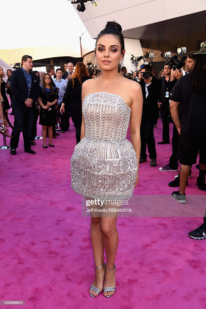 Actress Mila Kunis attends the 2016 Billboard Music Awards at T-Mobile Arena on May 22, 2016 in Las Vegas, Nevada.