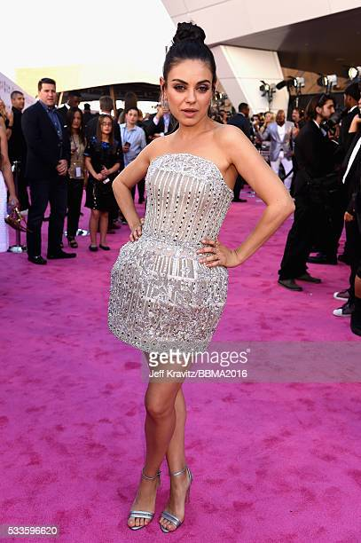 Actress Mila Kunis attends the 2016 Billboard Music Awards at TMobile Arena on May 22 2016 in Las Vegas Nevada