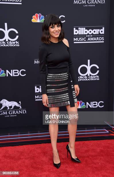 Actress Mila Kunis attends the 2018 Billboard Music Awards 2018 at the MGM Grand Resort International on May 20 in Las Vegas Nevada