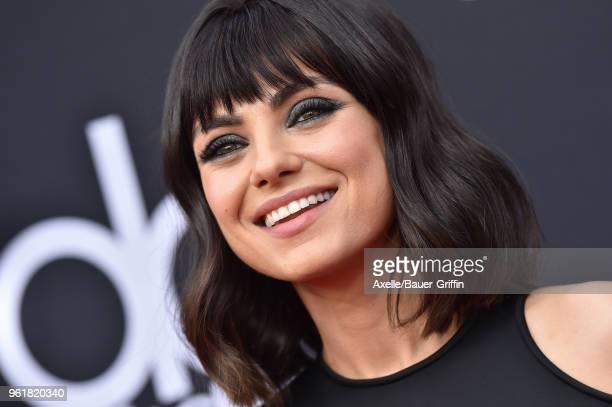 Actress Mila Kunis attends the 2018 Billboard Music Awards at MGM Grand Garden Arena on May 20, 2018 in Las Vegas, Nevada.