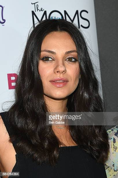 Actress Mila Kunis attends the 'Bad Moms' Mamarazzi Screening at AMC Empire 25 theater on July 28 2016 in New York City