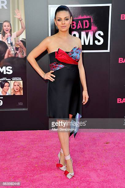 Actress Mila Kunis attends the Premiere ff STX Entertainment's Bad Moms at Mann Village Theatre on July 26 2016 in Westwood California