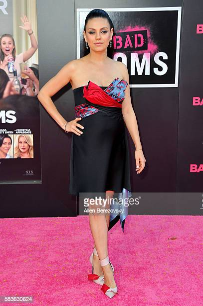 Actress Mila Kunis attends the Premiere of STX Entertainment's 'Bad Moms' at Mann Village Theatre on July 26 2016 in Westwood California