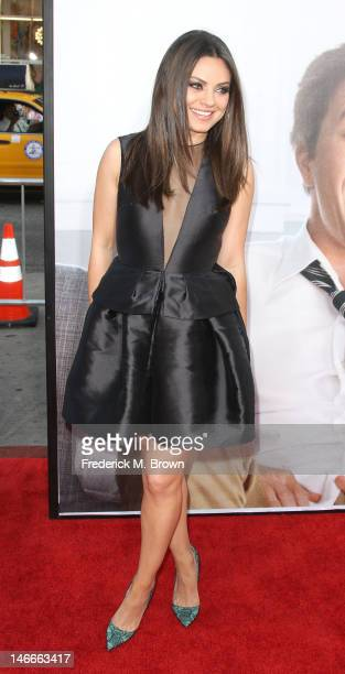Actress Mila Kunis attends the premiere of Universal Pictures' 'Ted' at Grauman's Chinese Theatre on June 21 2012 in Hollywood California