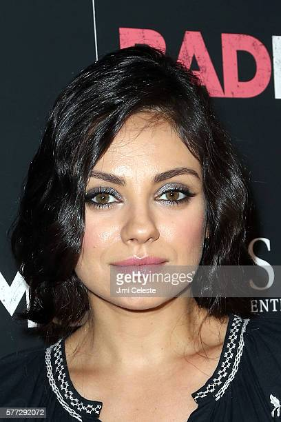 Actress Mila Kunis attends the private screening of STX Entertainment's Bad Moms at Metrograph on July 18 2016 in New York City