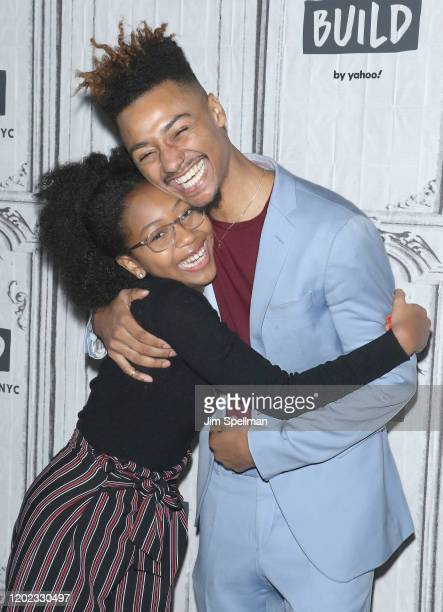 """Actress Milan Williams and director Riley S. Wilson attend the Build Series to discuss """"Little Apple"""" at Build Studio on January 27,d2020 in New York..."""