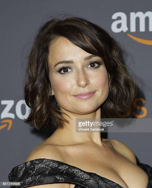 Actress Milana Vayntrub attends Amazon Studios Golden Globes Party at The Beverly Hilton Hotel on January 8 2017 in Beverly Hills California