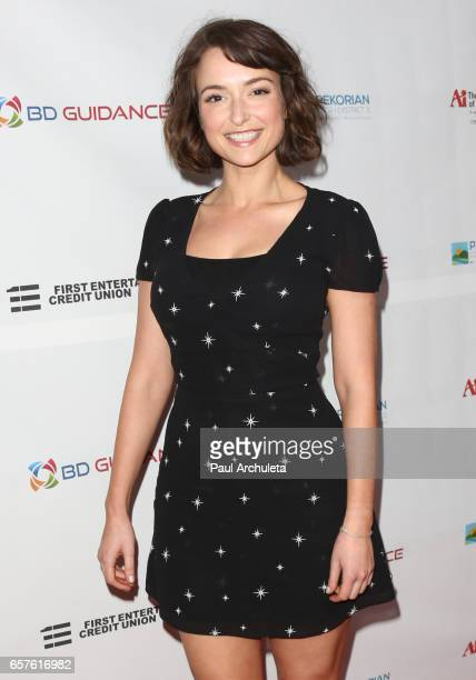 Actress Milana Vayntrub attends the 4th Annual North Hollywood CineFest opening night on March 24 2017 in North Hollywood California