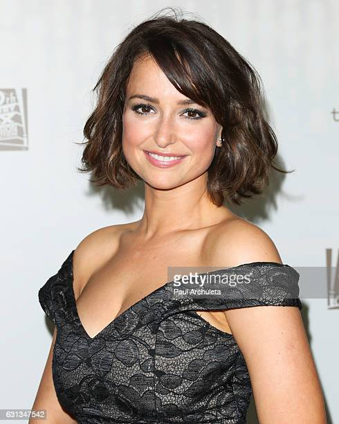 Actress Milana Vayntrub attends the FOX and FX's 2017 Golden Globe Awards After Party at The Beverly Hilton Hotel on January 8 2017 in Beverly Hills...
