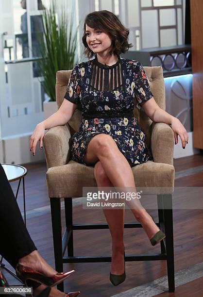Actress Milana Vayntrub visits Hollywood Today Live at W Hollywood on January 24 2017 in Hollywood California