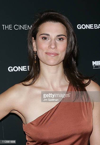 Actress Milena Govich arrives at the screening of Gone Baby Gone at the IFC Center on October 16 2007 in New York City