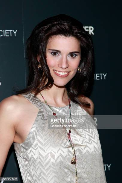Actress Milena Govich attends a screening of The Hangover hosted by the Cinema Society and Details at the Tribeca Grand Screening Room on June 4 2009...