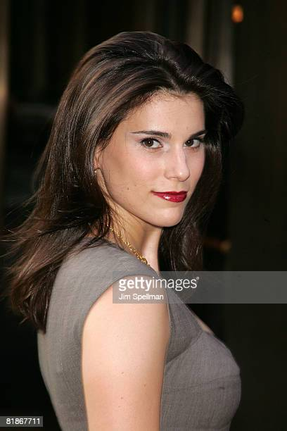 Actress Milena Govich attends a special screening of Transsiberian hosted by the Cinema Society and Conde Nast Traveler at Tribeca Grand Screening...