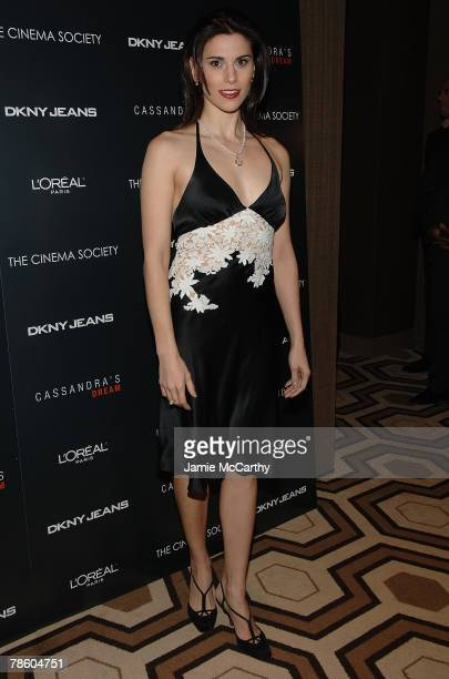 Actress Milena Govich attends Cassandra's Dream screening at the Tribeca Grand Screening Room on December 18 2007 in New York City