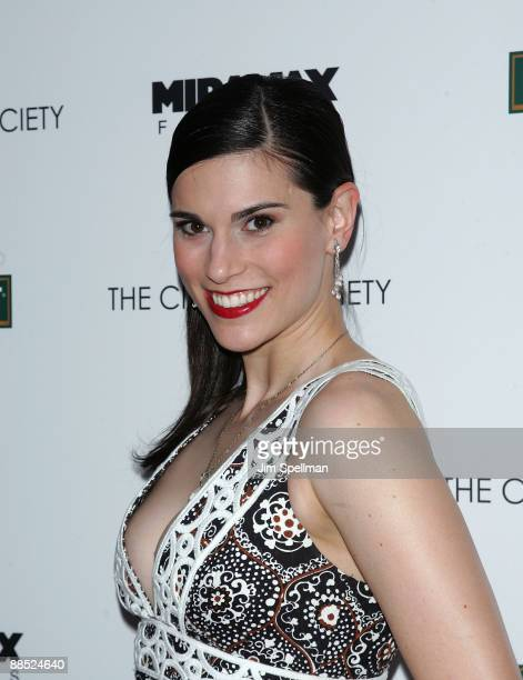 Actress Milena Govich attends the Cinema Society Noilly Prat screening Of Cheri at Directors Guild of America Theater on June 16 2009 in New York City