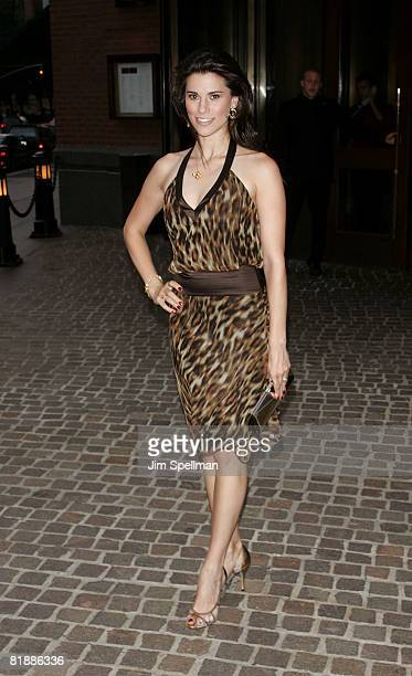 Actress Milena Govich attends the screening of August at Tribeca Grand Screening Room on July 9 2008 in New York City