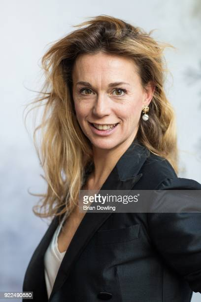 Actress Milena Mancini poses during the 'Boys Cry' portrait session during the 68th Berlinale International Film Festival Berlin at Regent Hotel on...