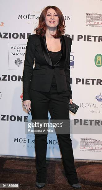 Actress Milena Miconi attends Gala Dinner In Favour Of Pietro Gamba Association at Officine Farneto on December 15 2009 in Rome Italy