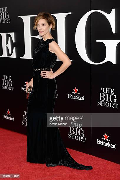 Actress Mili Avital attends the premiere of The Big Short at Ziegfeld Theatre on November 23 2015 in New York City
