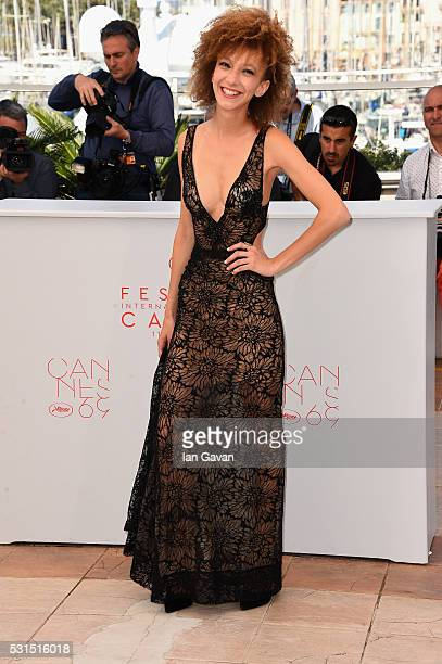 Actress Mili Eshet attends 'Beyond The Mountains And Hills' Photocall during The 69th Annual Cannes Film Festival at the Palais des Festivals on May...
