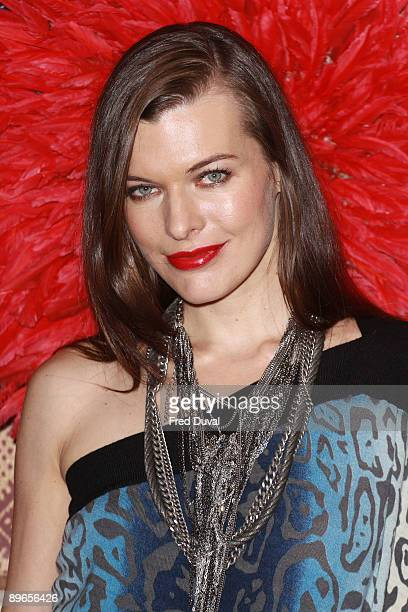 Actress Milla Jovovich attends a photocall for 'A Perfect Getaway' at Charlotte Street Hotel on August 7 2009 in London England