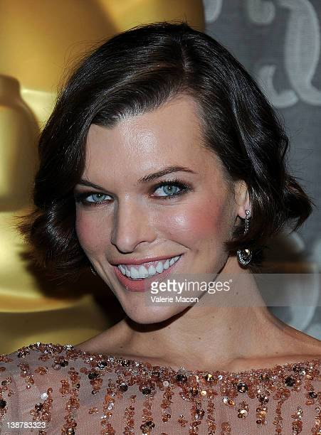 Actress Milla Jovovich attends the Academy Of Motion Picture Arts And Sciences' Scientific Technical Awards at the Beverly Wilshire Four Seasons...