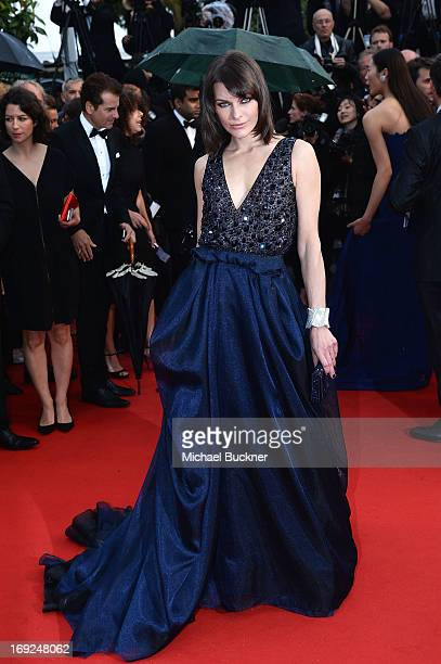 Actress Milla Jovovich attends the 'All Is Lost' Premiere during the 66th Annual Cannes Film Festival at Palais des Festivals on May 22 2013 in...