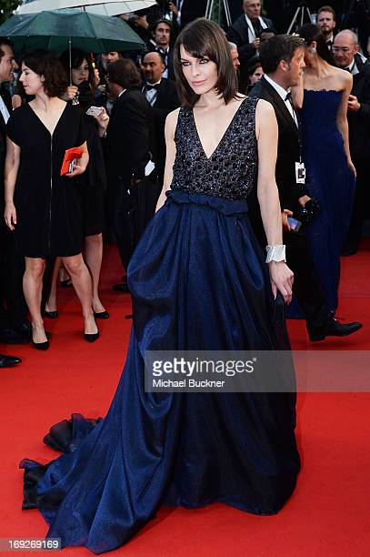 Actress Milla Jovovich attends the 'All Is Lost' Premiere during the 66th Annual Cannes Film Festival at Palais des Festivals on May 22, 2013 in...