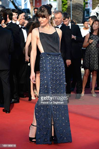 Actress Milla Jovovich attends the 'Cleopatra' premiere during The 66th Annual Cannes Film Festival at The 60th Anniversary Theatre on May 21, 2013...