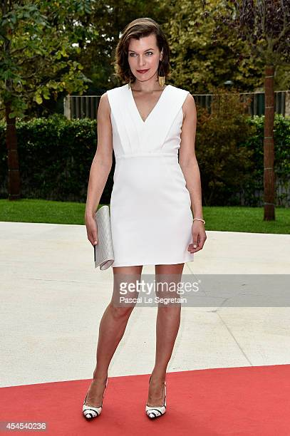 Actress Milla Jovovich attends the Cymbeline premiere during the 71st Venice Film Festival on September 3 2014 in Venice Italy