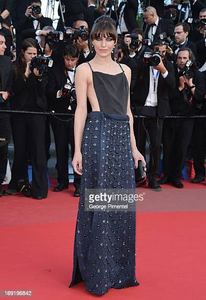 Actress Milla Jovovich attends the Premiere of 'Cleopatra' at The 66th Annual Cannes Film Festival on May 21 2013 in Cannes France