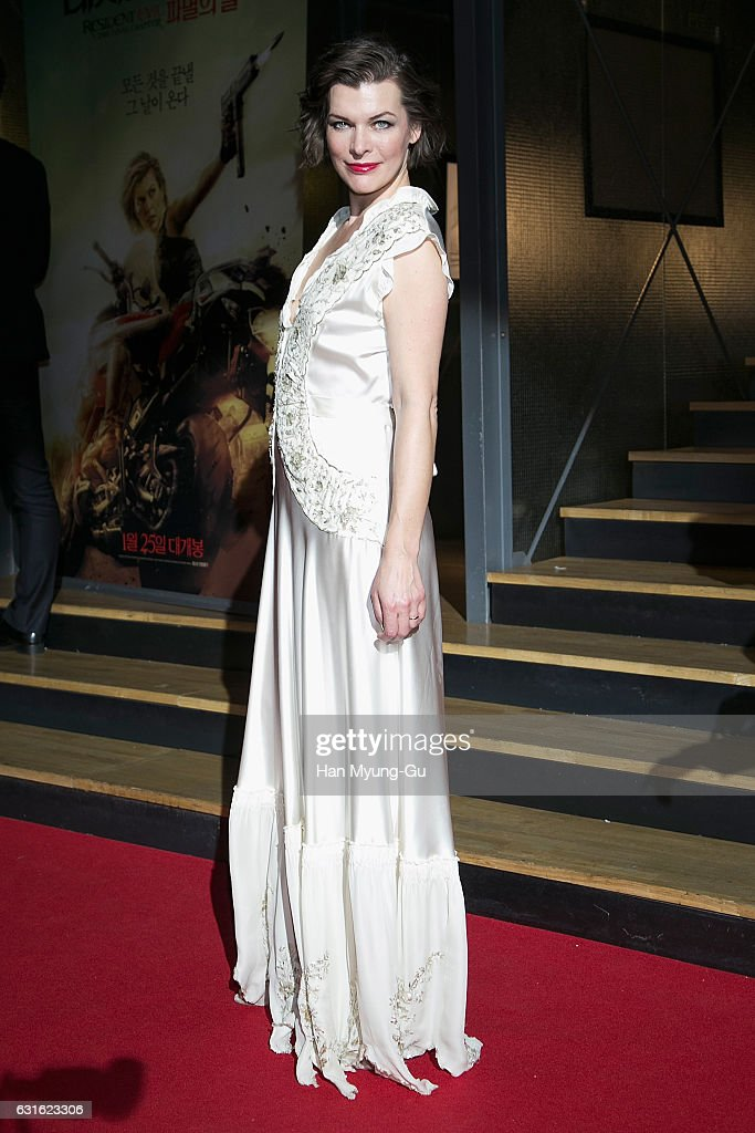 """Resident Evil: The Final Chapter"" Seoul Premiere - Red Carpet"