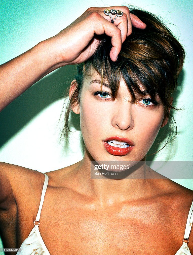 Milla Jovovich, Glamour Magazine, April 2007