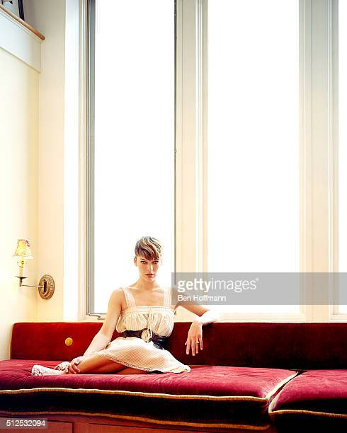 Actress Milla Jovovich is photographed for Glamour Magazine on November 25 2006 in New York City