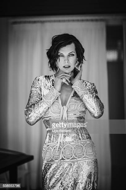Actress Milla Jovovich is photographed for Self Assignment on May 15 2016 in Cannes France