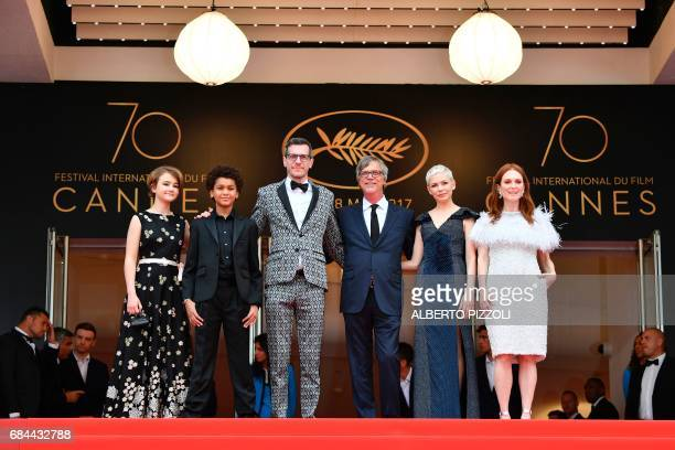 US actress Millicent Simmonds US actor Jaden Michael US writer/screenwriter Brian Selznick US director Todd Haynes US actress Michelle Williams and...