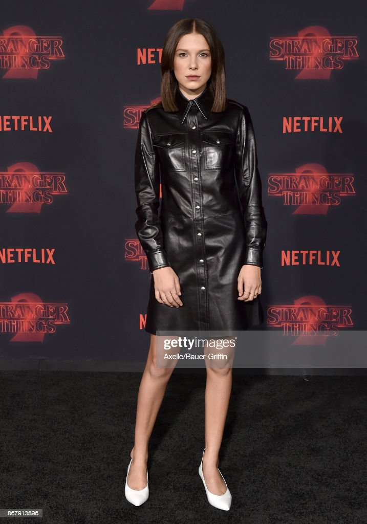 "Premiere Of Netflix's ""Stranger Things"" Season 2 : News Photo"