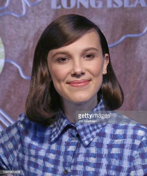 Actress Millie Bobby Brown lights The Empire State Building in honor of Unicef and World Children's Day on November 20, 2018 in New York City.