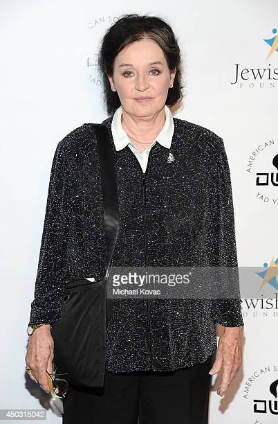 Actress Millie Perkins arrives at the Jewish Life Foundation's Salute To Hollywood Gala Benefiting Holocaust Educational Programming In Schools and...