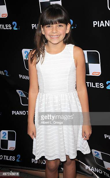 Actress Milly D at the Piano Tiles 2 app launch held at Couture on November 14 2015 in Hollywood California