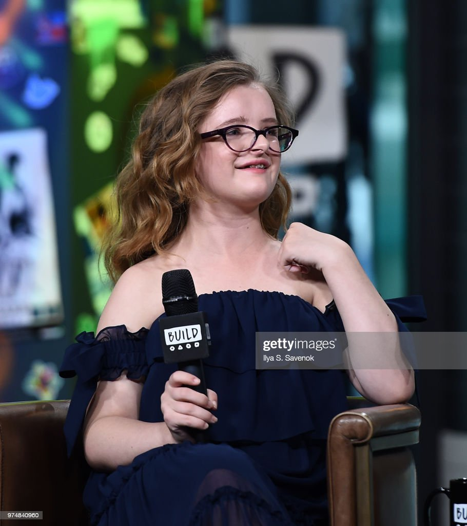 Actress Milly Shapiro visits Build Series to promote 'Hereditary' at Build Studio on June 14, 2018 in New York City.