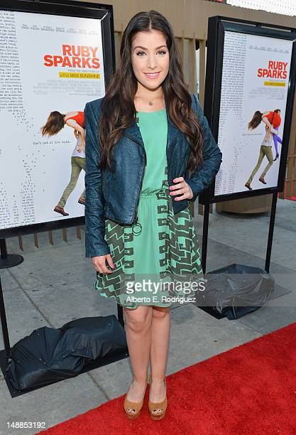 Actress Mimi Gianopulos arrives to the premiere of Fox Searchlight's Ruby Sparks at the Egyptian Theatre on July 19 2012 in Hollywood California