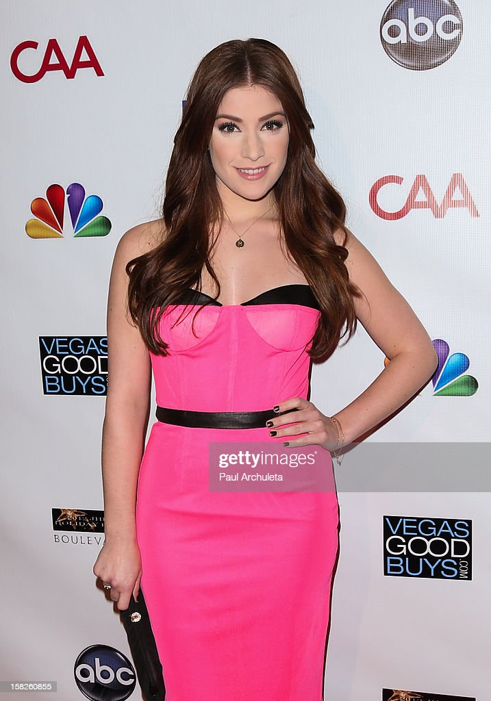 Actress Mimi Gianopulos attends the Junior Hollywood Radio & Television Society's 10th annual holiday party at Boulevard3 on December 11, 2012 in Hollywood, California.
