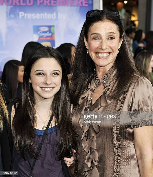 Actress Mimi Rogers and her daughter Lucy arrive at Walt Disney Picture's 'Jonas Brothers 3D Concert Experience' at the El Capitan Theatre on...