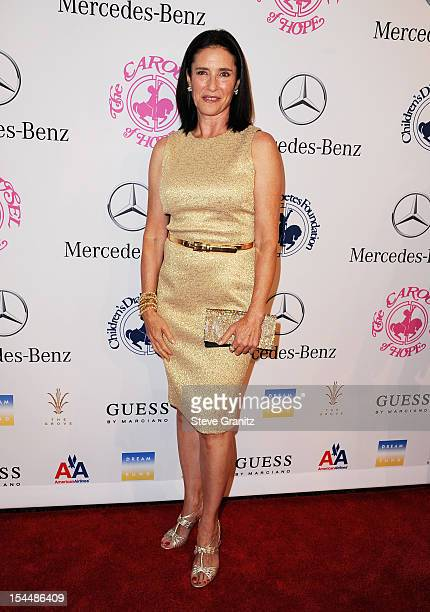 Actress Mimi Rogers arrives at the 26th Anniversary Carousel Of Hope Ball presented by MercedesBenz at The Beverly Hilton Hotel on October 20 2012 in...