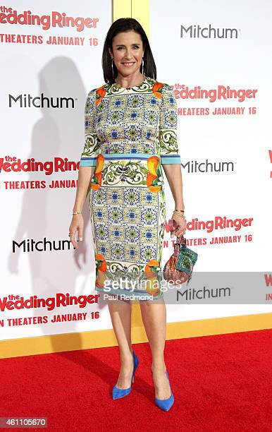 Actress Mimi Rogers arrives at The Wedding Ringer World Premiere at TCL Chinese Theatre on January 6 2015 in Hollywood California