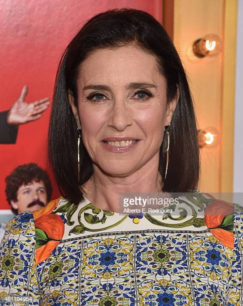 Actress Mimi Rogers arrives to the premiere of Screen Gems' The Wedding Ringer at the TCL Chinese Theatre on January 6 2015 in Hollywood California
