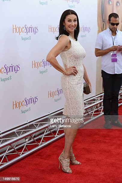 Actress Mimi Rogers attends the Hope Springs premiere at the SVA Theater on August 6 2012 in New York City